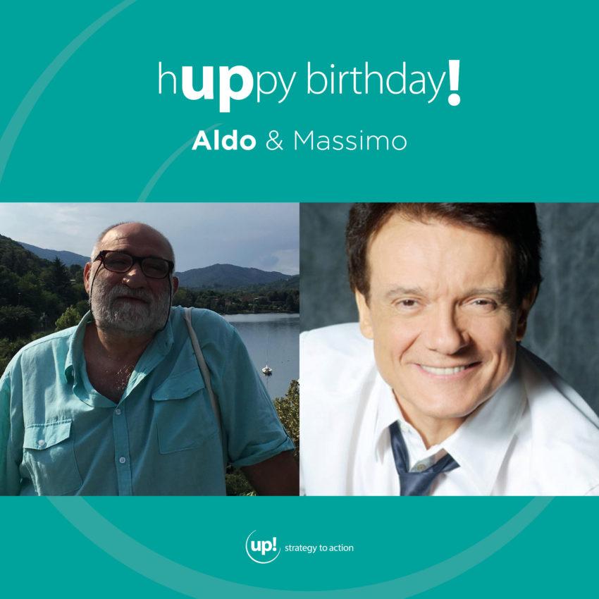 Buon compleanno Aldo! (e Massimo)