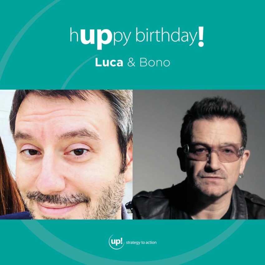 Buon compleanno Luca! (e Bono!)