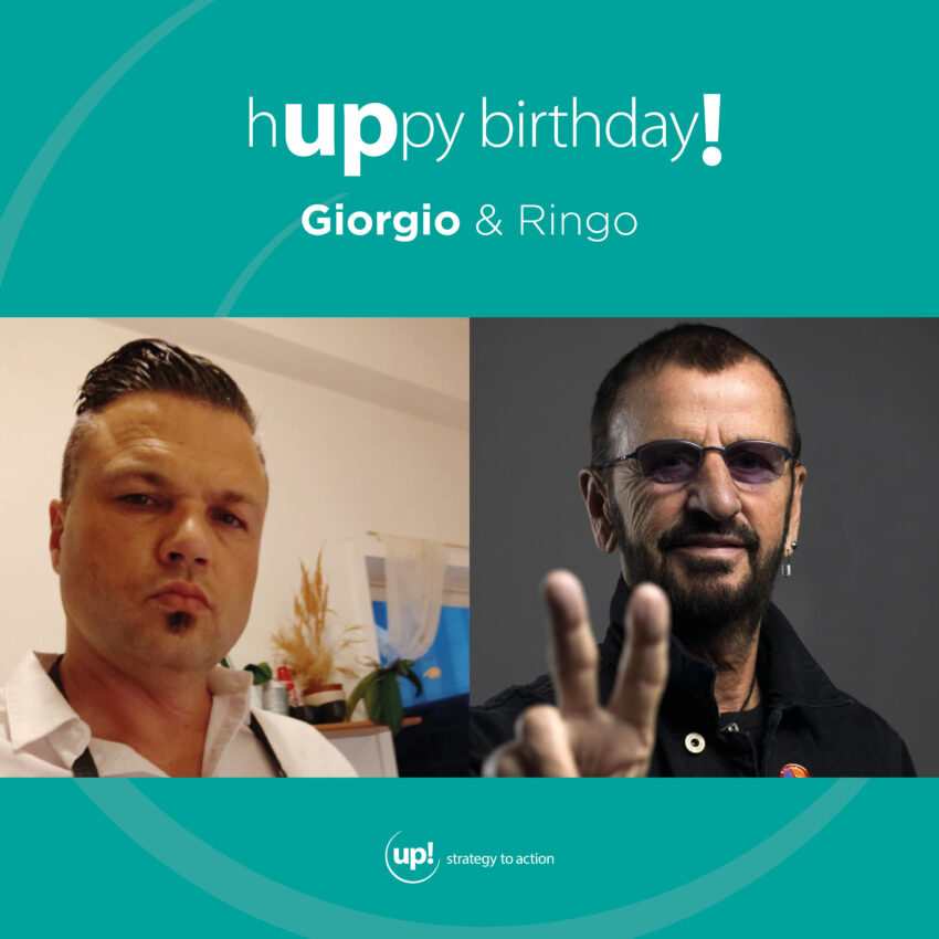 Buon compleanno Giorgio! (e Ringo)