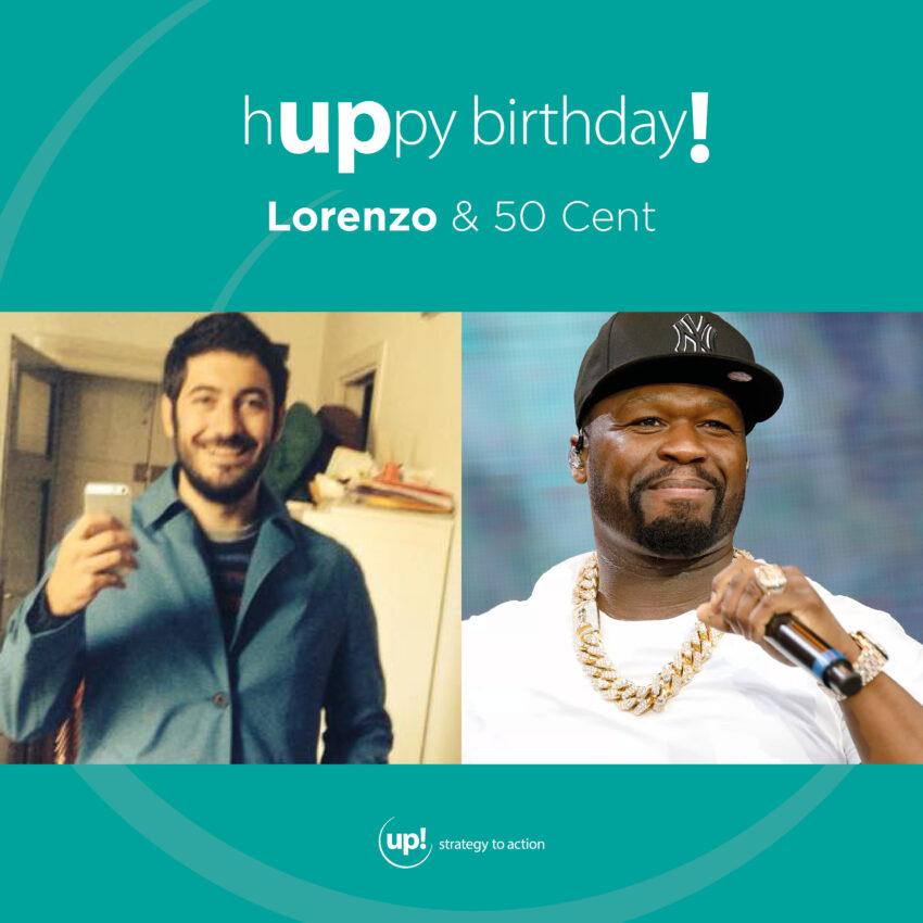 Buon compleanno Lorenzo! (e 50 Cent)