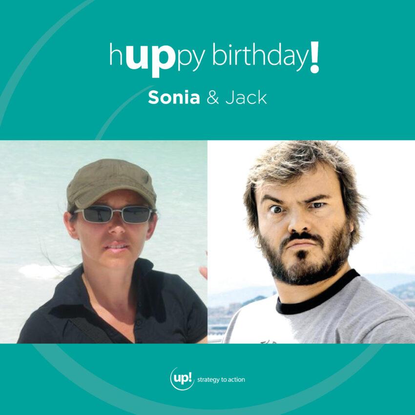 Buon compleanno Sonia! (e Jack)