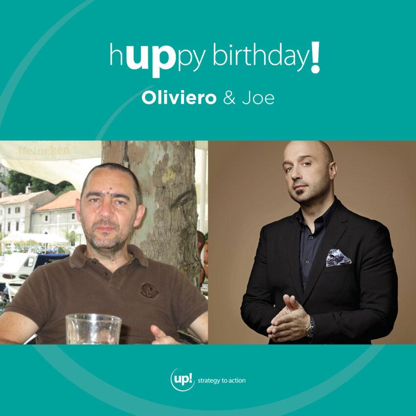 Buon compleanno Oliviero! (e Joe)