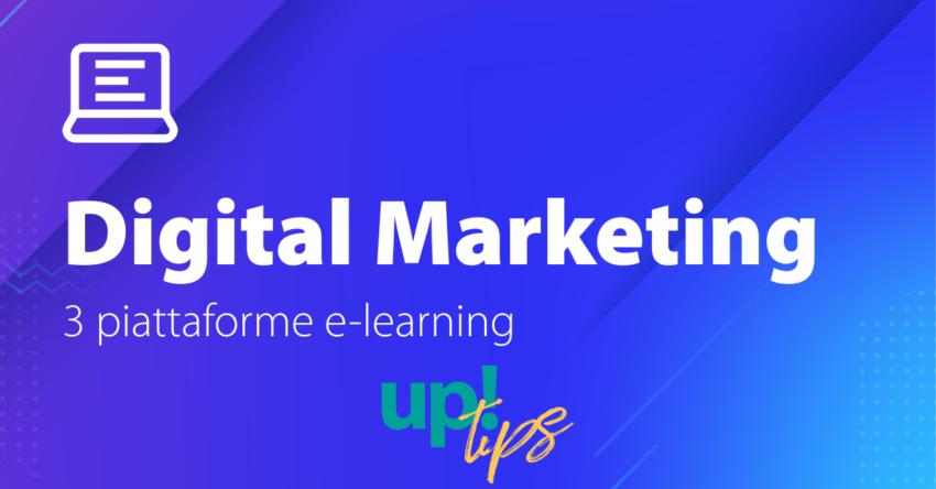 Digital Marketing: 3 piattaforme di e-learning per tenersi aggiornati