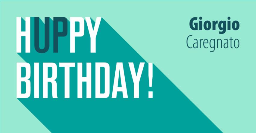 Cinque cose da scegliere: birthday edition Giorgio