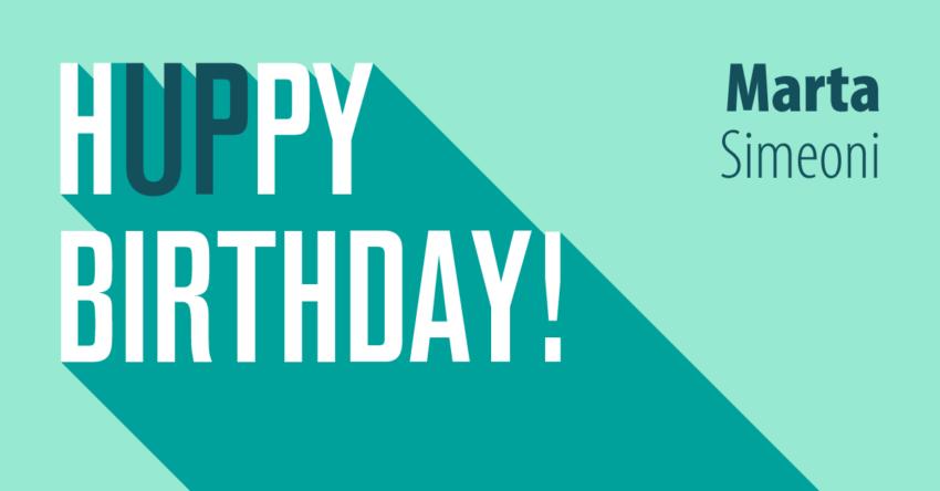 Cinque cose preferite: birthday edition Marta
